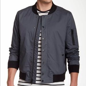 $349 Hudson jeans men's cotton bomber jacket